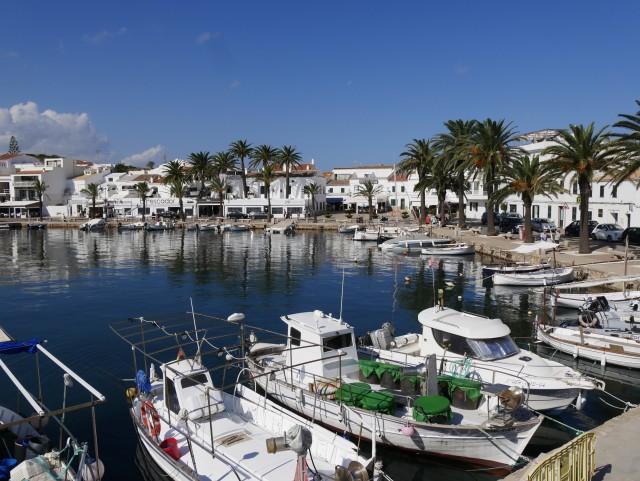 Hafen von Menorca