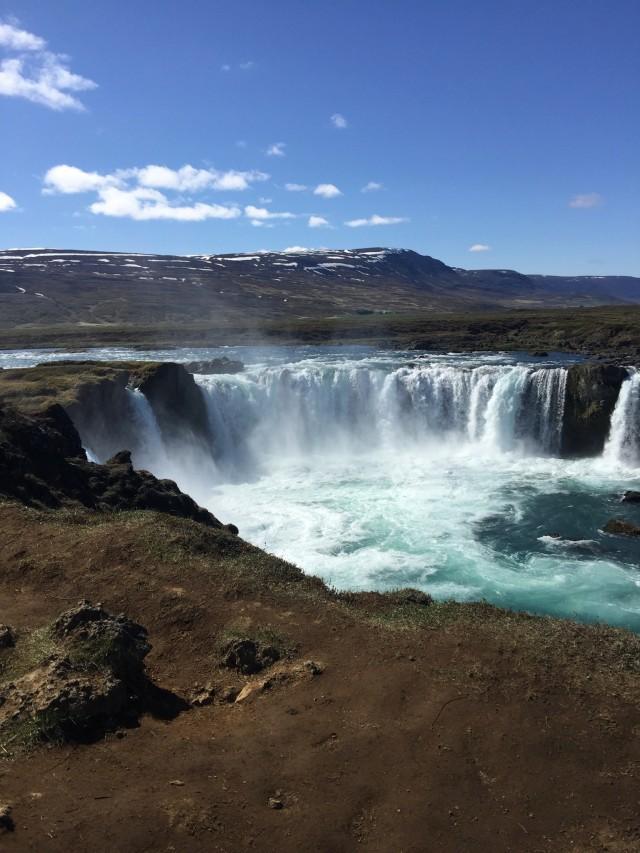 Godafoss - Der wilde Wasserfall-