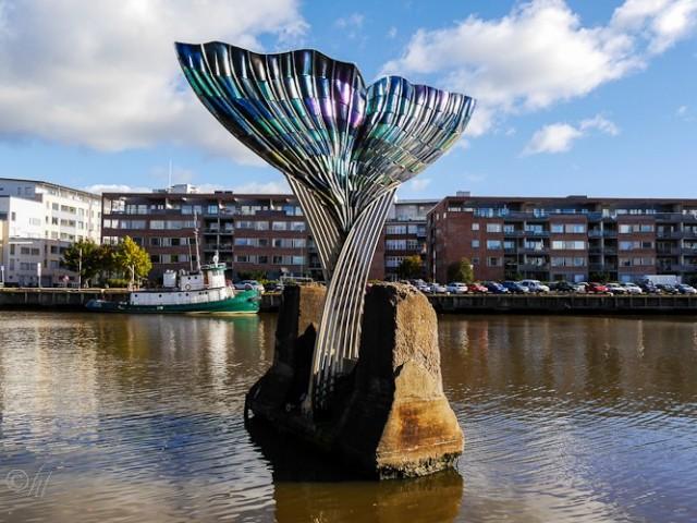 Kunst im Fluss
