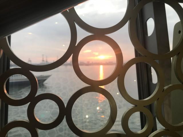 Sonnenaufgang vor Penang