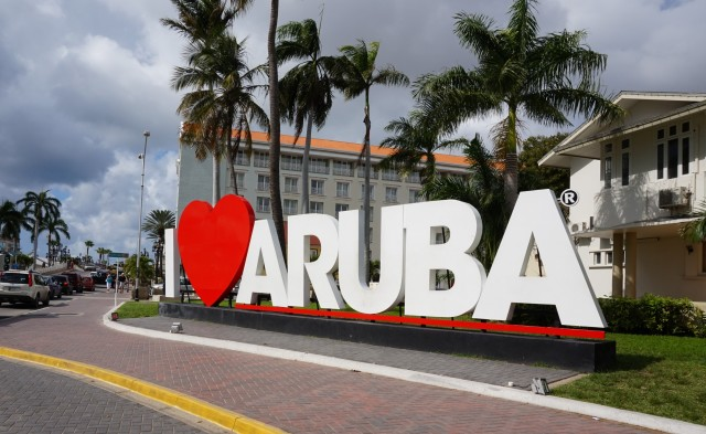 In love with Aruba
