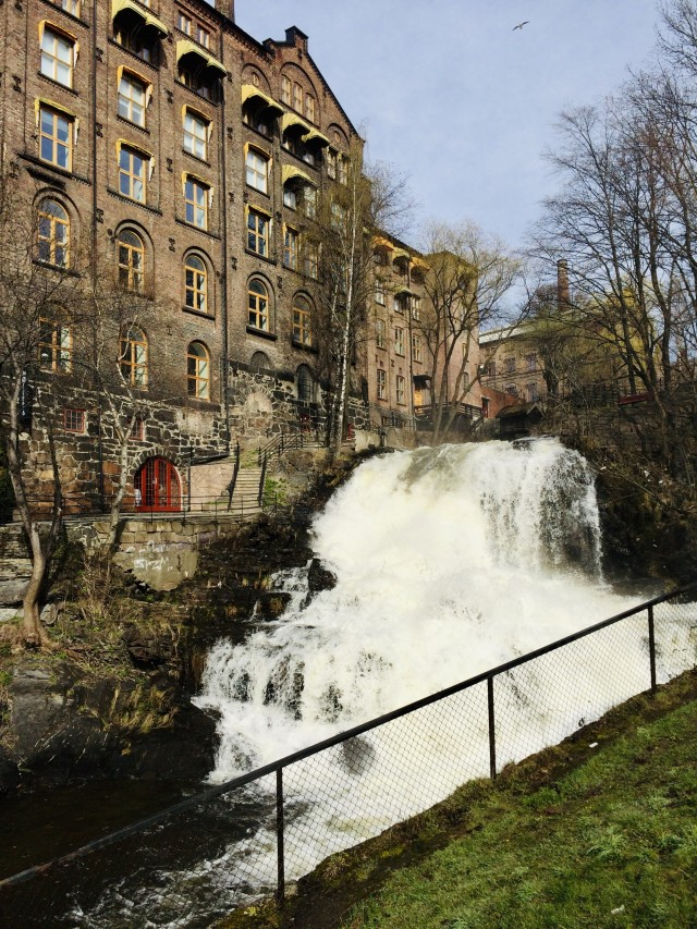 Wasserfall bei Molla (Oslo)
