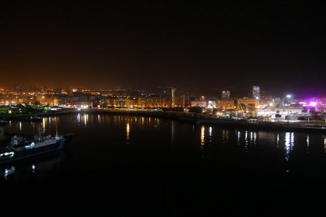 Las Palmas bei Nacht