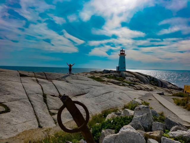 Leuchtturm in Peggy's Cove