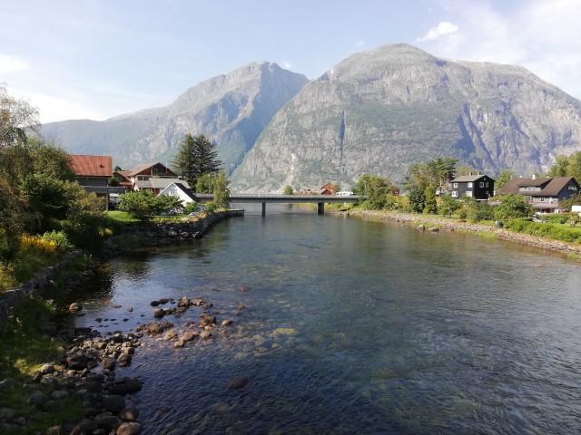 Fluss Eio in Eidfjord