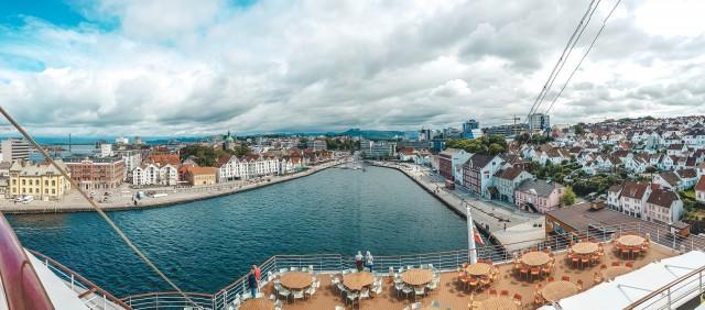 Panoramablick auf Stavanger