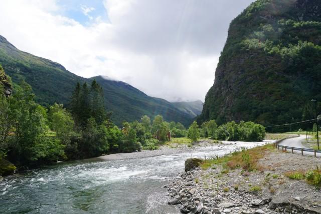 Spaziergang durch das Tal