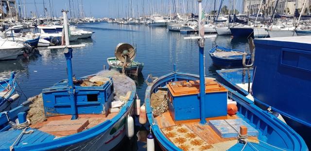 Fischerboote in Palermo