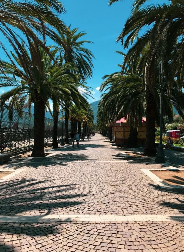 Promenade in La Spezia