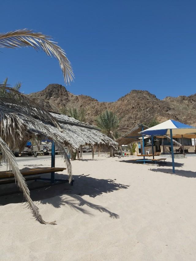 Strandbesuch in Muscat