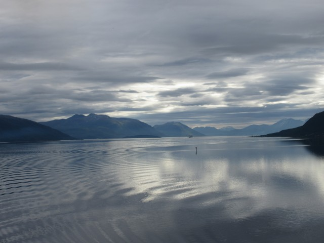 Auf dem Weg nach Tromso