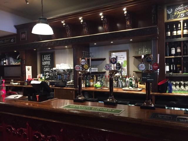 Ein typisch englischer Pub