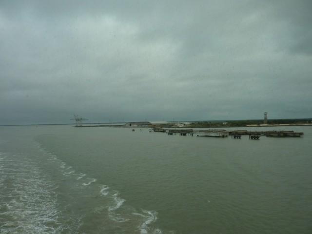 Hafenausfahrt Le Verdon-sur-Mer