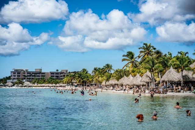 Karibischer Strand auf Curacao