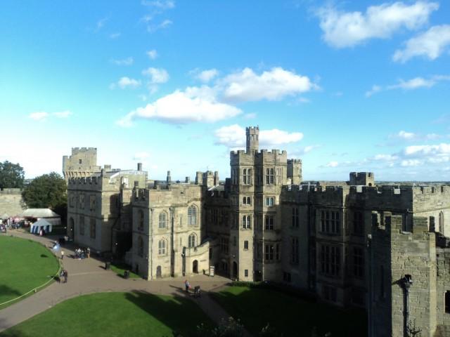 Warwick Castle in October