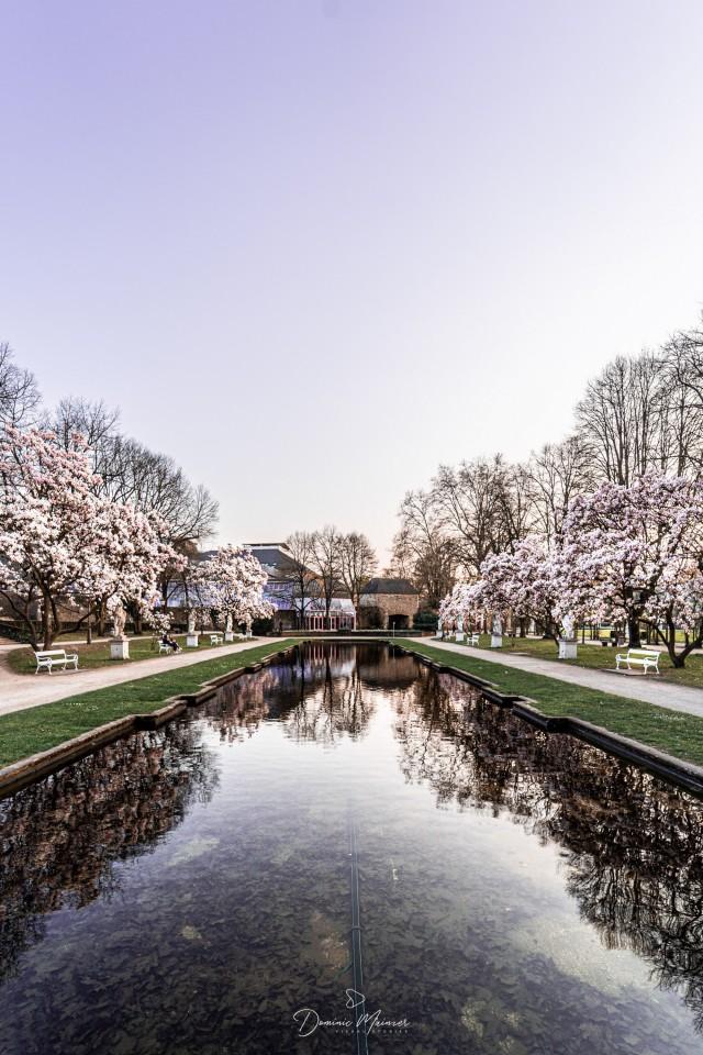Römischer Palastgarten