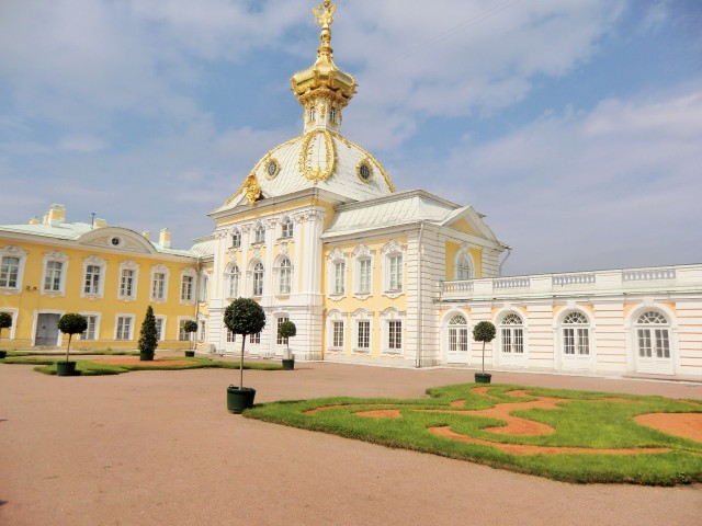 Prunkvolles Palais