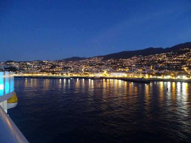 Einlaufen in Funchal