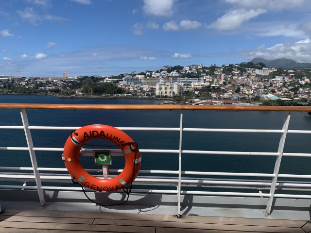 Aussicht vom Schiff