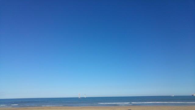 Wundervoller Strand von Valencia