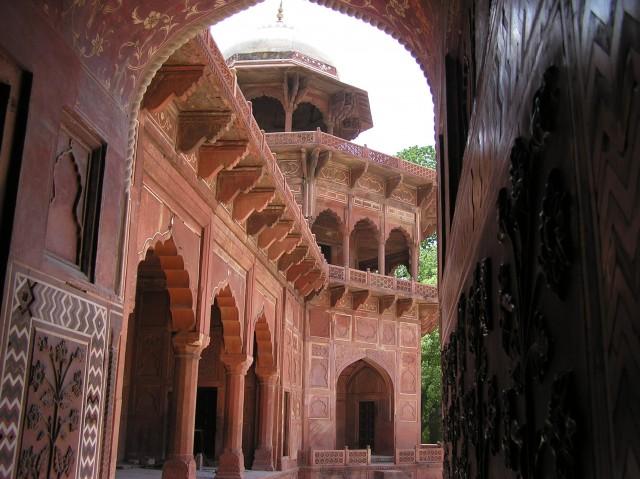 Paläste aus Sandstein