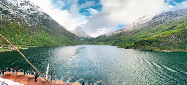 Goodbye Geirangerfjord