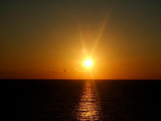 Sonnenuntergänge sind immer wieder wunderschön