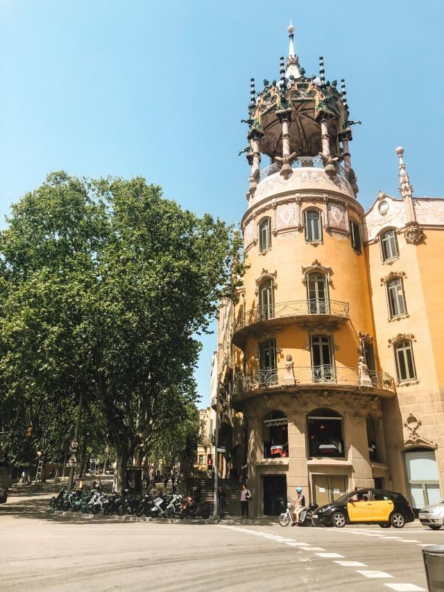 Bunte Gebäude