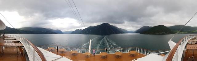 Fahrt durch die Fjorde