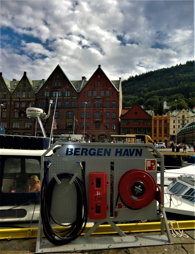 Der Fischereihafen in Bergen