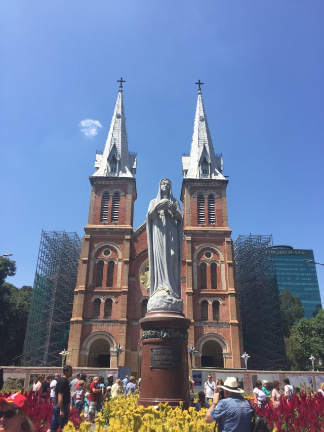 Kirche Notre Dame in Vietnam