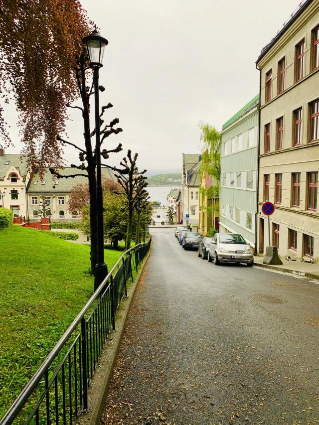 Innenstadt von Alesund