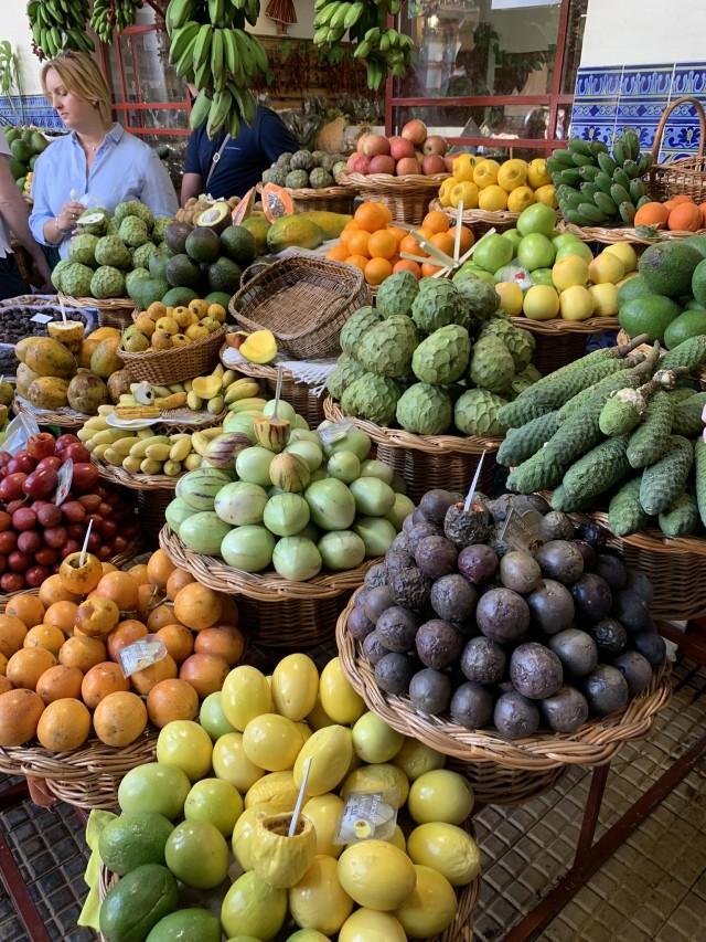 Obstdealer auf Madeira