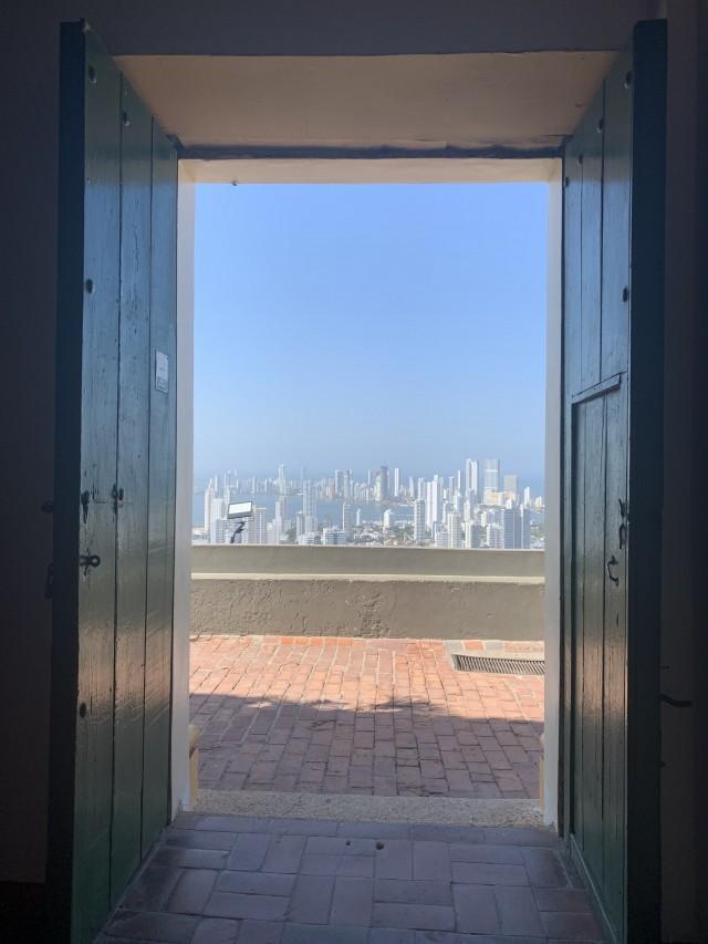 Tolle Aussicht über die Stadt