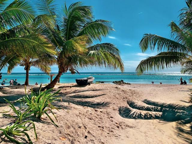 Der Strand der Costa Maya