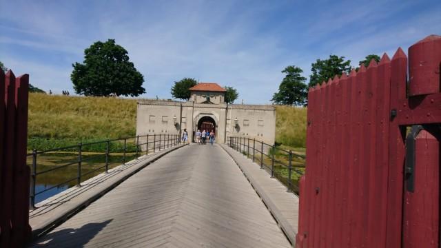 Der Eingang zum Kastell