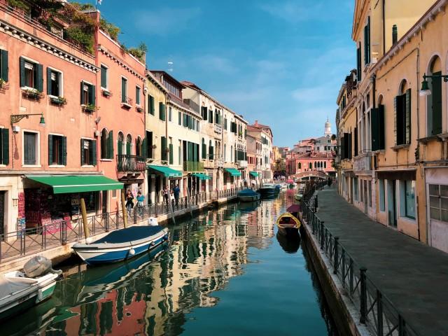 Venedig, fast menschenleer