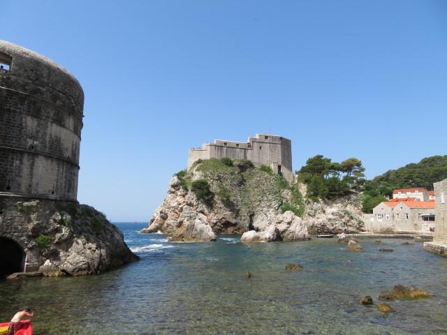 Blick auf die Festung Lovrijenac