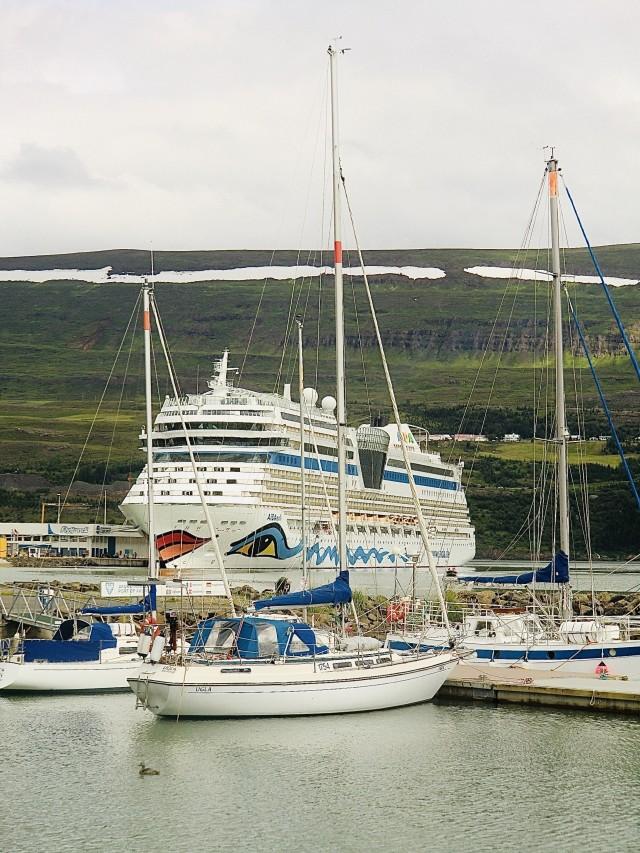 AIDAsol in Akureyri