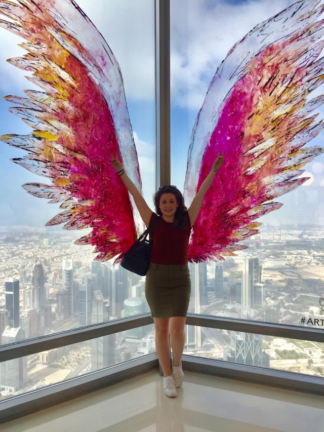 Angel Wings At The Top