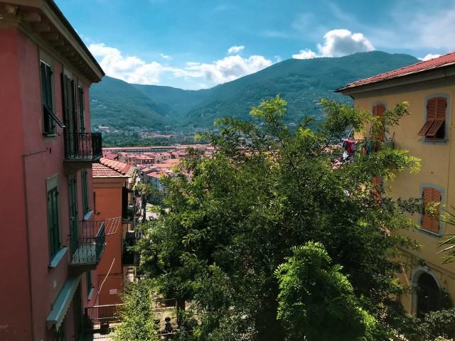 Über den Dächern von La Spezia