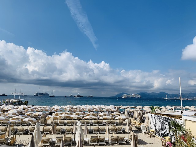 Die Küste von Cannes
