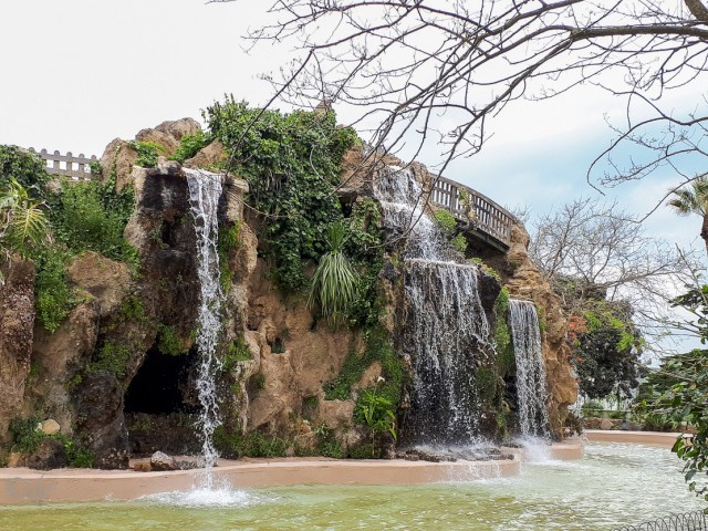 Puente elevado Parque del Genovés