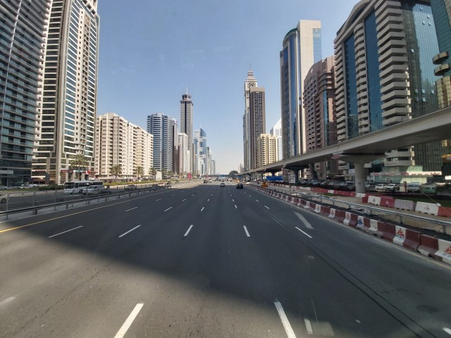 Dubai: Unterwegs mit dem Hop On Hop Off Bus
