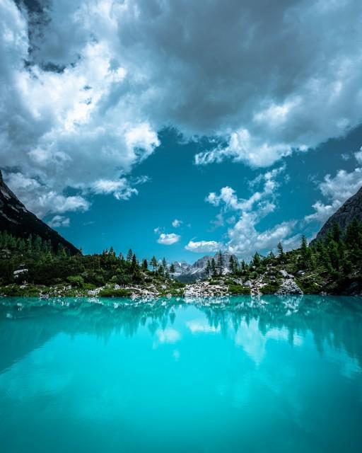 Eine himmlische Komposition in den Dolomiten