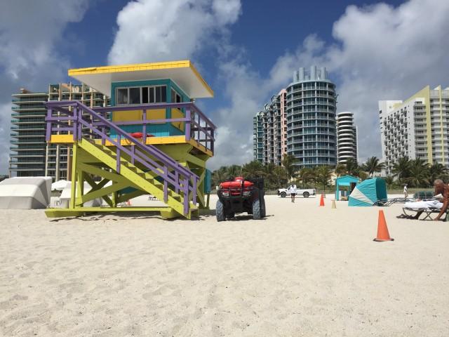 Strandhäuschen Miami beach