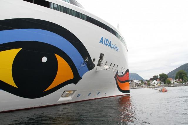 AIDA Prima in Nordfjordeid