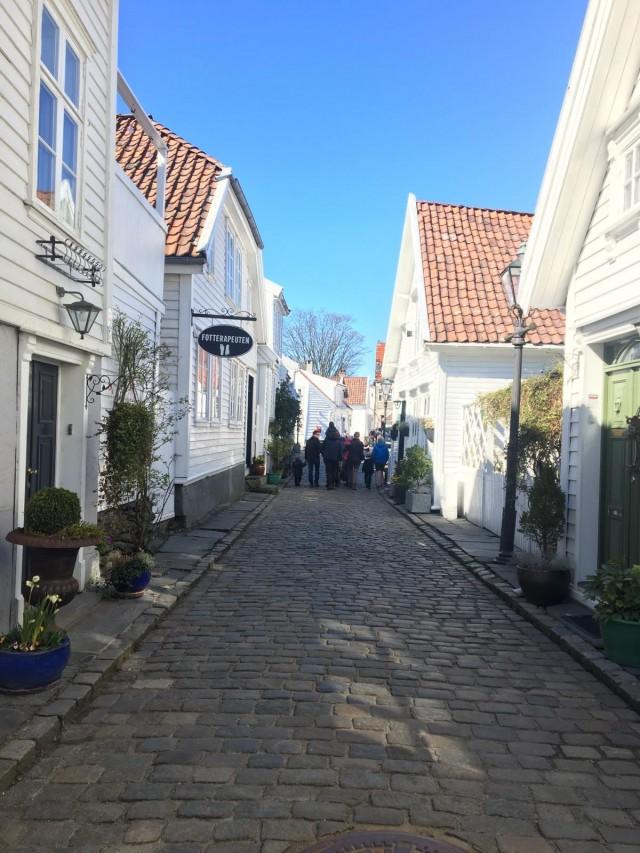Ein Spaziergang durch Gamle Stavanger
