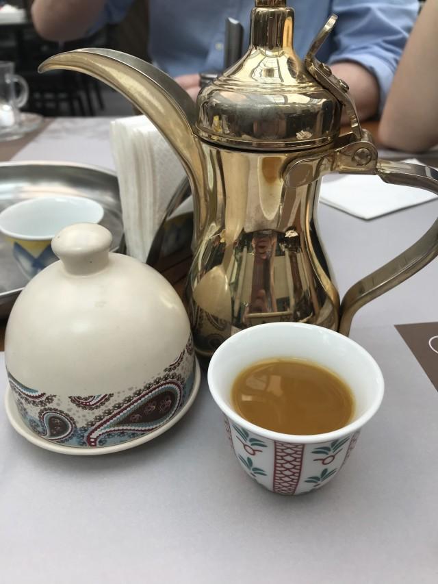 Arabischer Kaffee in Manama