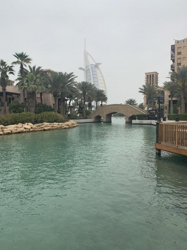 Burj Al Arab von Weitem